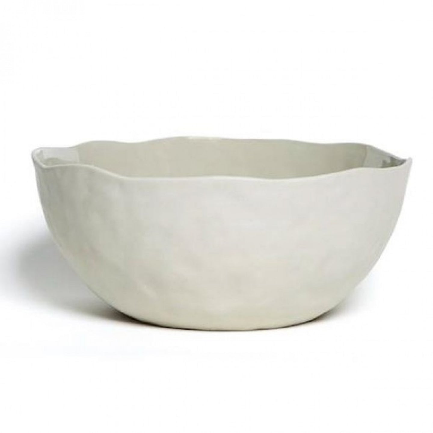 Flax Ceramics Salad Bowl