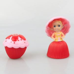 1pc Mini Cartoon Lovely Cupcake Princess Doll Transformed Scented Beautiful Cute Cake Doll Toy Girls Toys for Children New