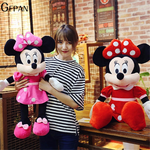 Image of High Quality Stuffed Mickey & Minnie Mouse Plush Toy 40cm