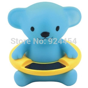 Image of Infant Baby Temperature Water Thermometer Bear Baby Bath Thermometer Duck Dinosaur Baby Tub Toy Temperature Tester Kid Bath Toy