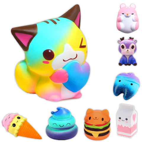 Image of Anti-stress Cute Unicorn Squishes