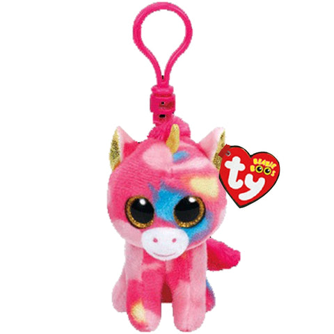 Image of Beanie Boos Big Eyes Plush Keychain Toy Doll
