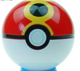 1pc Pokeball + 1 free Random Action Toy Figure Pikachu Toy Doll anime model pet popular cosplay toy for children kids boys girls