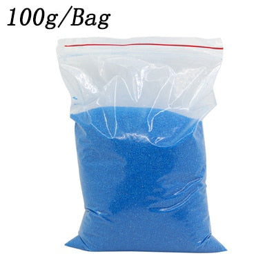 100g/bag DIY Not Wet Magic Sand Handmade Toys Non toxic Magic Mars Space Sand Educational Toy For Kid Gifts oyuncak