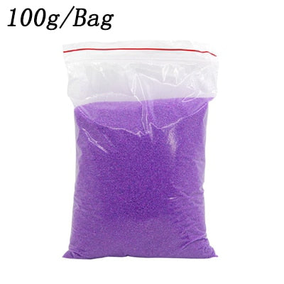 Image of 100g/bag DIY Not Wet Magic Sand Handmade Toys Non toxic Magic Mars Space Sand Educational Toy For Kid Gifts oyuncak