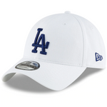 Los Angeles Dodgers New Era Core Classic Secondary 9TWENTY Adjustable Hat - White