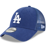 Los Angeles Dodgers New Era Trucker 9FORTY Adjustable Snapback Hat - Royal