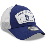Los Angeles Dodgers New Era Loyalty Trucker 9FORTY Snapback Hat - Royal