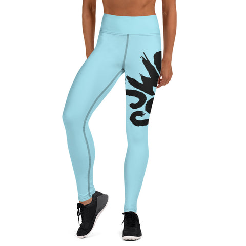 Sky Wrap-Around Yoga Leggings