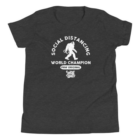 Social Distancing Champion Youth T-Shirt