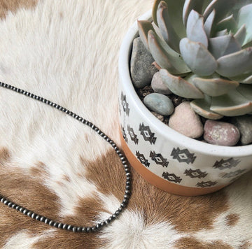 Navajo Pearl inspired necklace