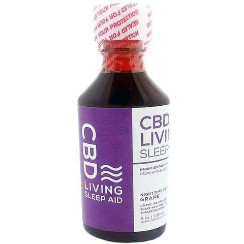 Living CBD oil Melatonin sleep syrup - cbdindia