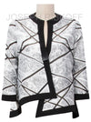 Easy Fitting Crisscross Jacket
