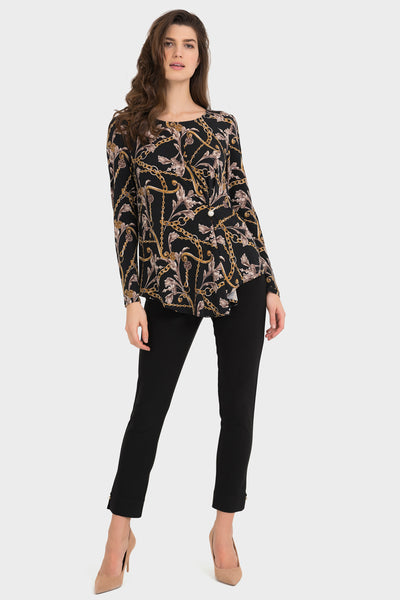 Versace Printed Top with Pearl