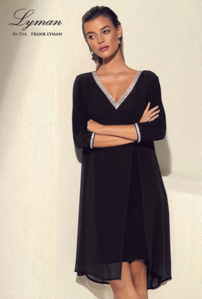 Frank Lyman Deep V Dress