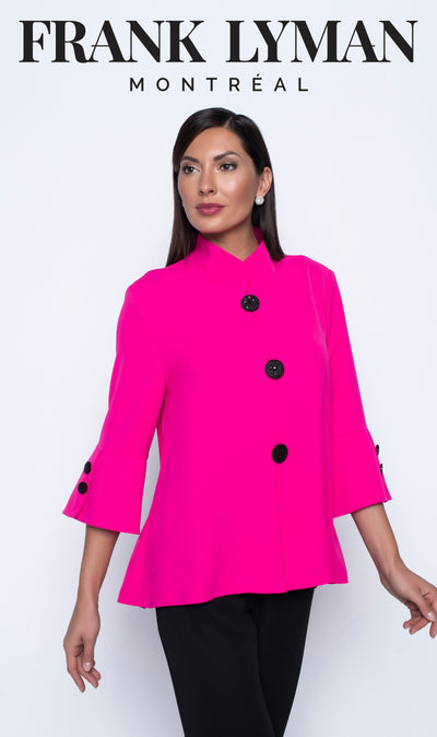 Hot Pink Swing Jacket