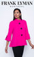 Frank Lyman Hot Pink Swing Jacket