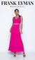 Frank Lyman Hot Pink Jumpsuit