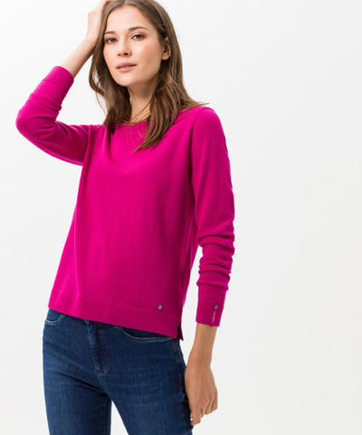 Brax Sweater Merino-Cotton-Mix (Pink)