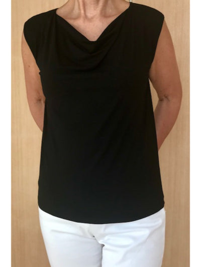Soft Cowl Neck Singlet
