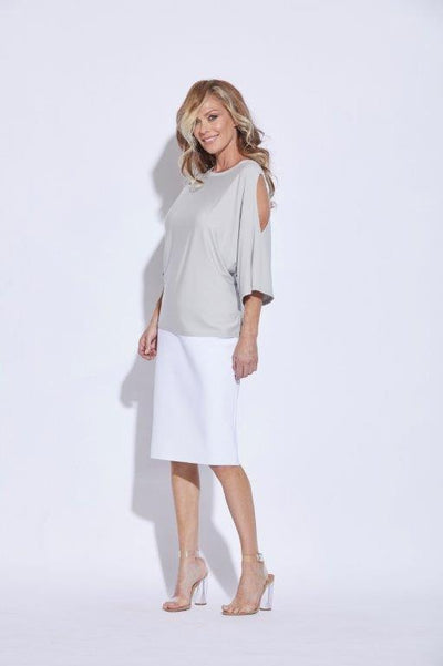 Split Sleeve Loose Top