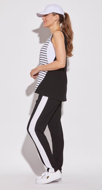 Relaxed Side Panel Trackie