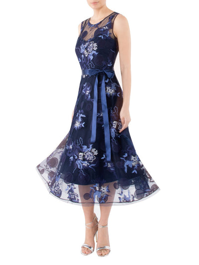 China Blue Swing Dress