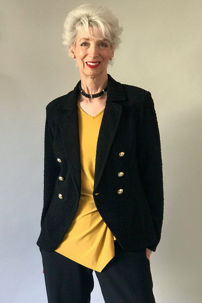 Gold Button Jacket