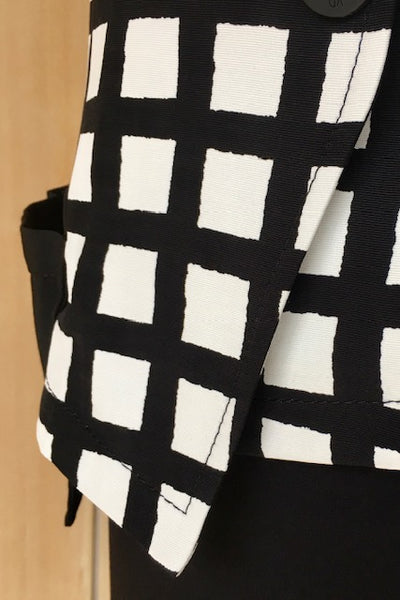 XD Design Black/White Check Jacket