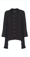 Crepe Overshirt Duster