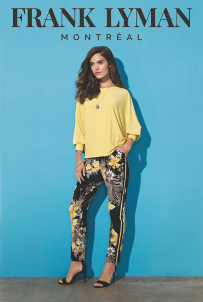 Frank Lyman Pineapple Knit Top