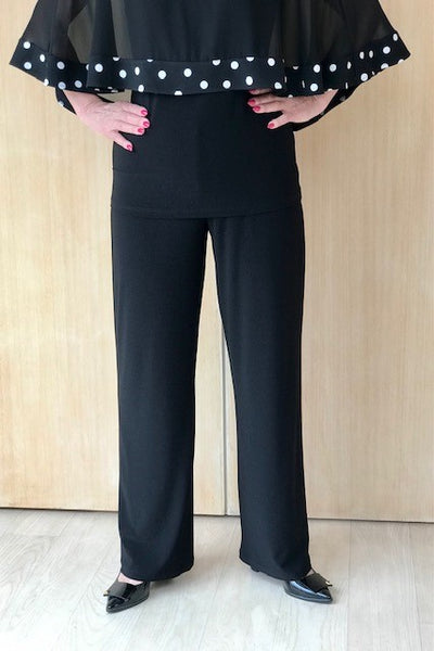 Wide Leg Lined Pant