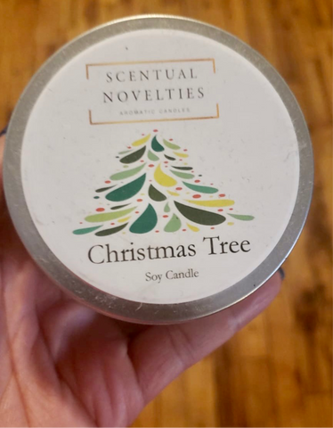Christmas Tree Travel Tin