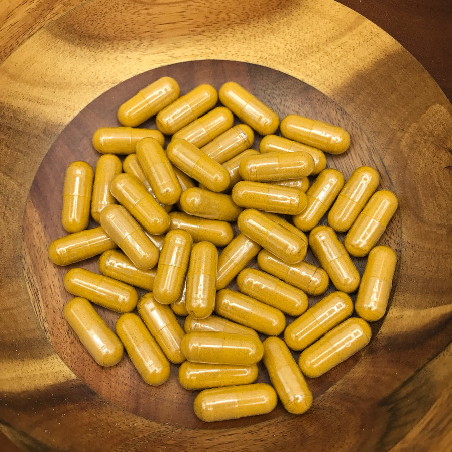 Organic Turmeric and Ginger Vegan Capsules
