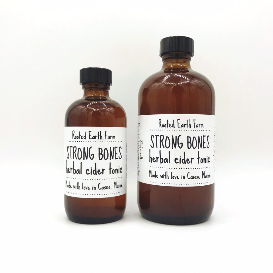 Strong Bones Herbal Cider Tonic - Bone Health - Hair Health - Nail Health - Hair Growth - Herb Tonic - Osteoporosis - Vitamin Tonic