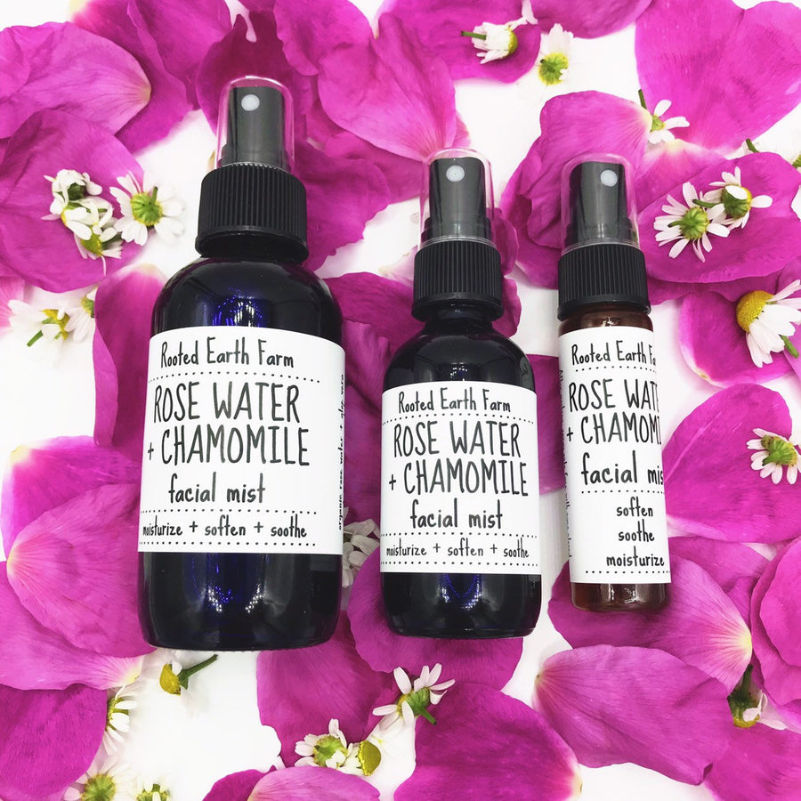 Rose Water Chamomile Facial Mist