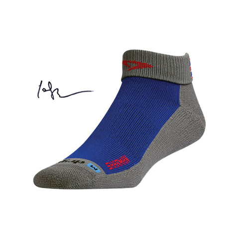 EXTRA PROTECTION TRAIL RUNNING 1/4 CREW/TURNDOWN SOCKS