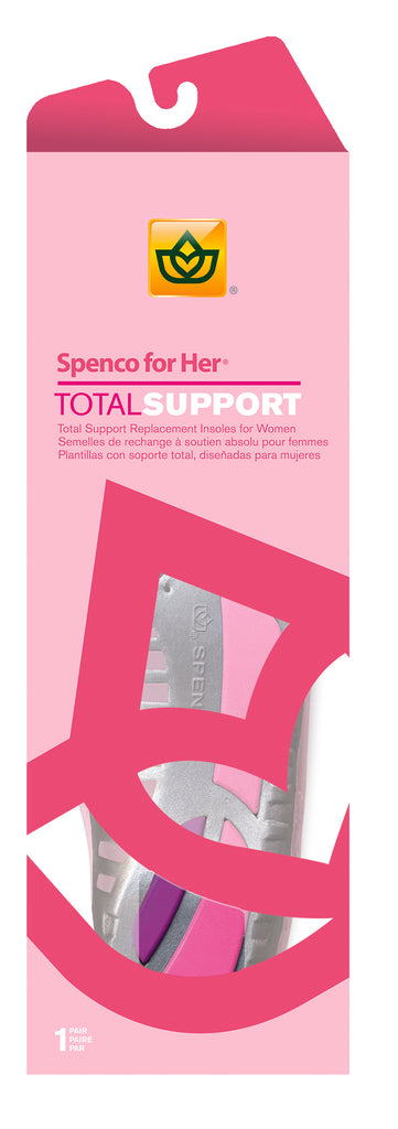FOR HER TOTAL SUPPORT INSOLES
