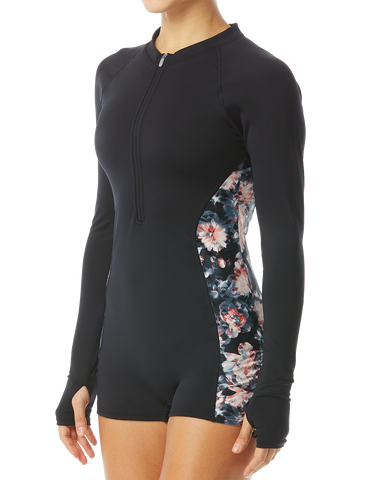 TYR Pink® Padma Women's Fiona Long Sleeve One Piece Jumpsuit