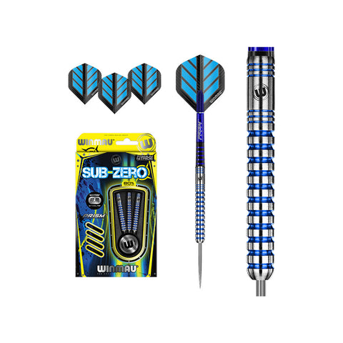 SUB-ZERO TUNGSTEN STEELTIP DARTS