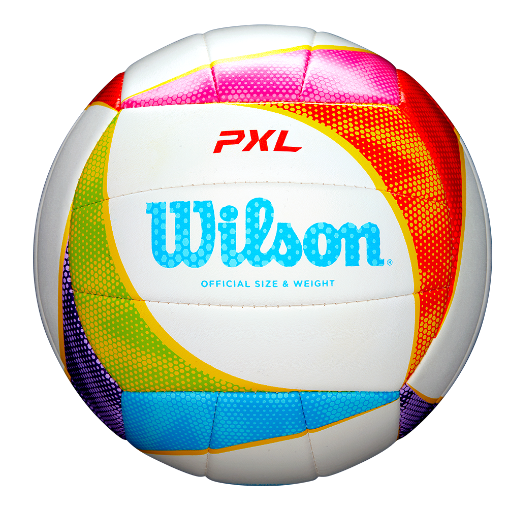 PXL GAME VOLLEYBALL WHITE/RED/PURPLE