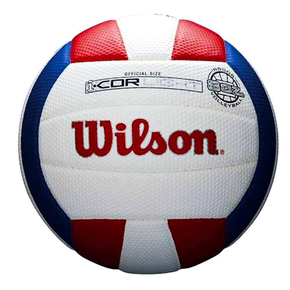 I-COR LIGHT VOLLEYBALL RED/WHITE/BLUE