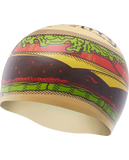 TYR Hamburger Silicone Adult Swim Cap