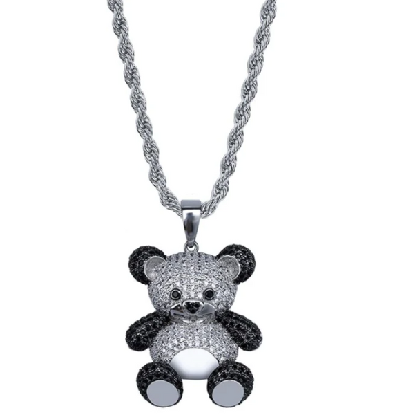silver charms bear