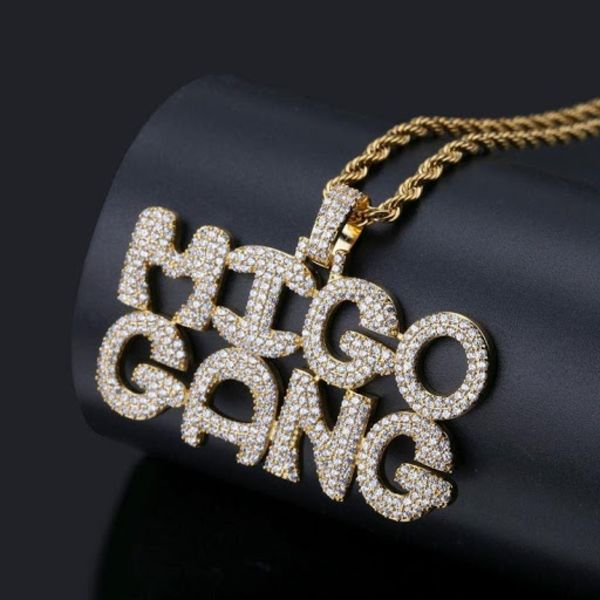 Quavo Migo Nation Pendant 2
