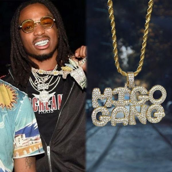 Quavo Migo Nation Pendant