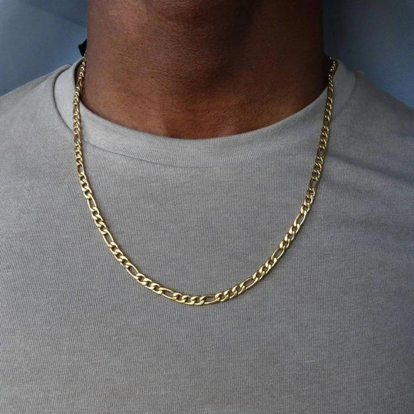 "20"" Gold Figaro Chain"
