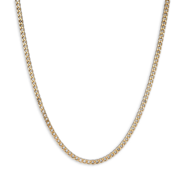 5mm 14K Gold Miami Cuban Link Chain