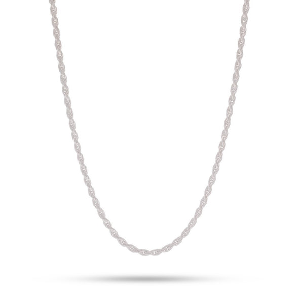 3mm, Italian Rope Chain (.925 Sterling Silver)