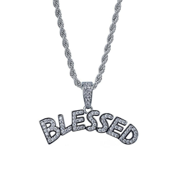 Iced Blessed Pendant